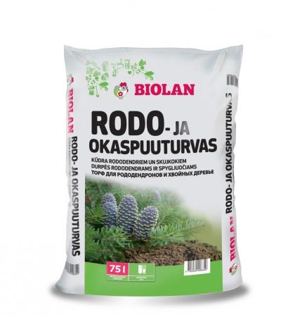 Biolan Kūdra rododendriem un skujeņiem