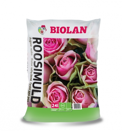 Biolan Augsne rozēm