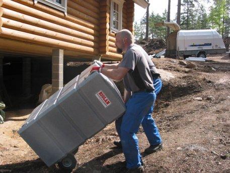 Biolan Mājsaimniecības pelēkā ūdens attīrīšanas filtrs 125