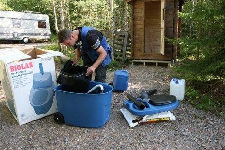 Biolan Škidrumu atdaloša sausā tualete